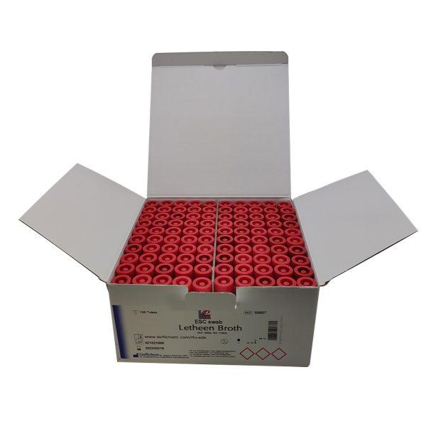 CALDO LETHEEN ESC SWAB CAJA X 100 UND (TUBO X 10ML) REF. 85607 (LIOFILCHEM)-5