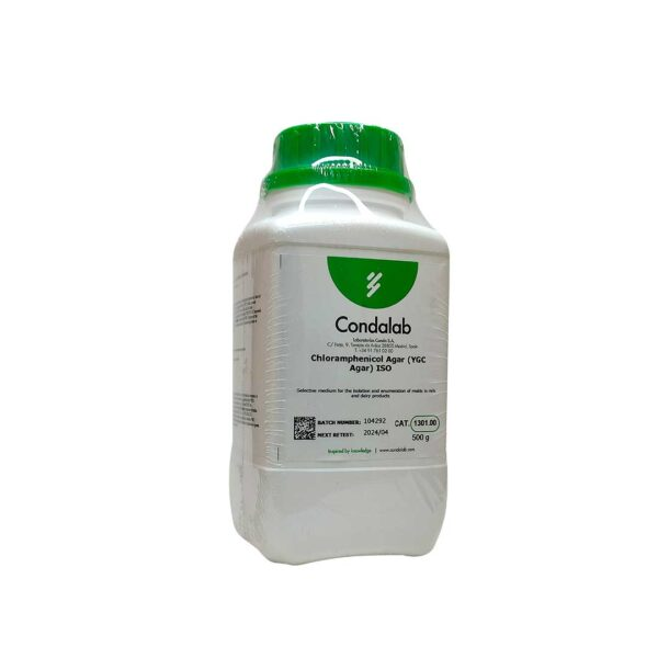 BASE-AGAR-CLORANFENICOL-YGC-ISO-1301-CONDA-MDM-CIENTIFICA