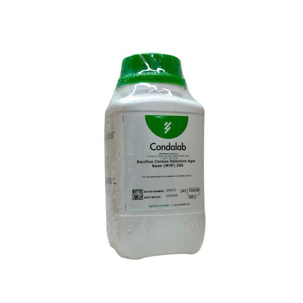 BASE-AGAR-BACILLUS-CEREUS-SELECTIVE-(MYP)-ISO-500-GRAMOS-1343-CONDA-MDM-CIENTIFICA-medios-de-cultivo-deshidratados